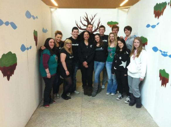FIS 2012 - (Most of) 4th year Creative Media.