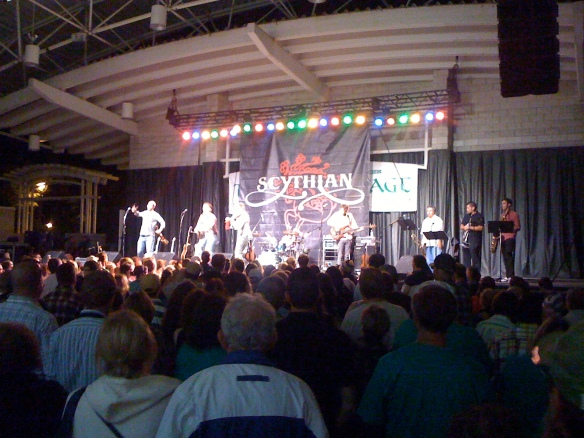 Scythian performing at the Tipperary stage Saturday night.